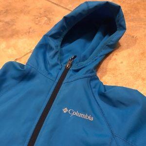 Kids like new -royal blue COLUMBIA rain coat 🌧